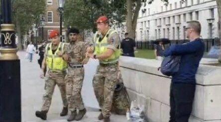 Ahmed Al-Babati arrested near Downing Street