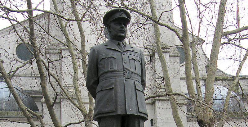Statue of Arthur Harris in London