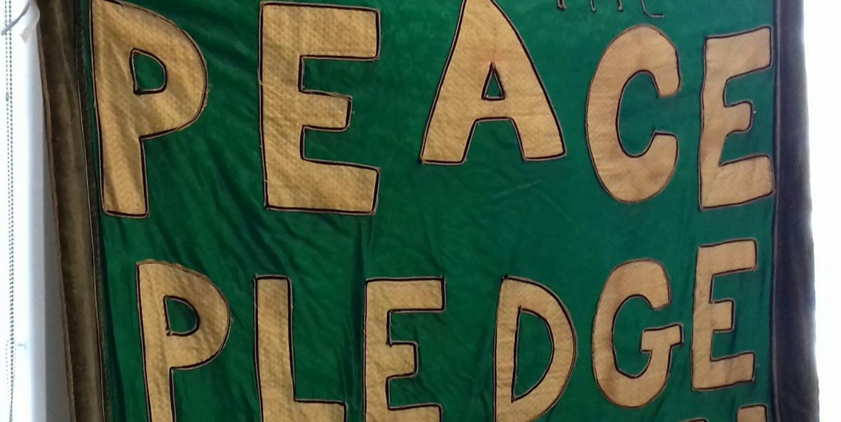 Peace Pledge Union banner