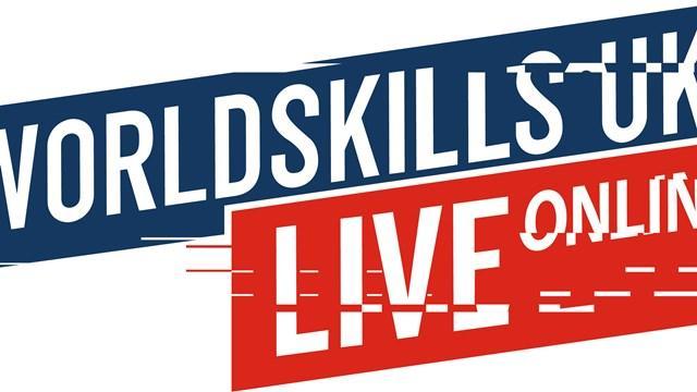 Online poster advertising World Skills UK