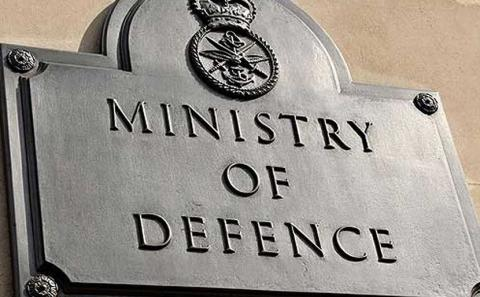 Ministry of Defence plaque