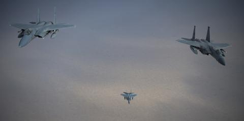 Saudi air force jets