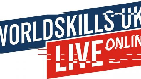Online poster advertising World Skills UK